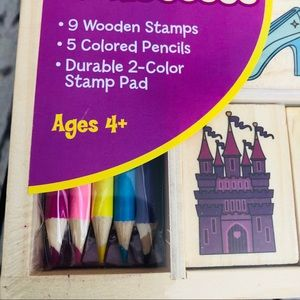 Melissa & Doug Other - 🆕 NEW Melissa & Doug Arts Crafts Stamp Set Kids